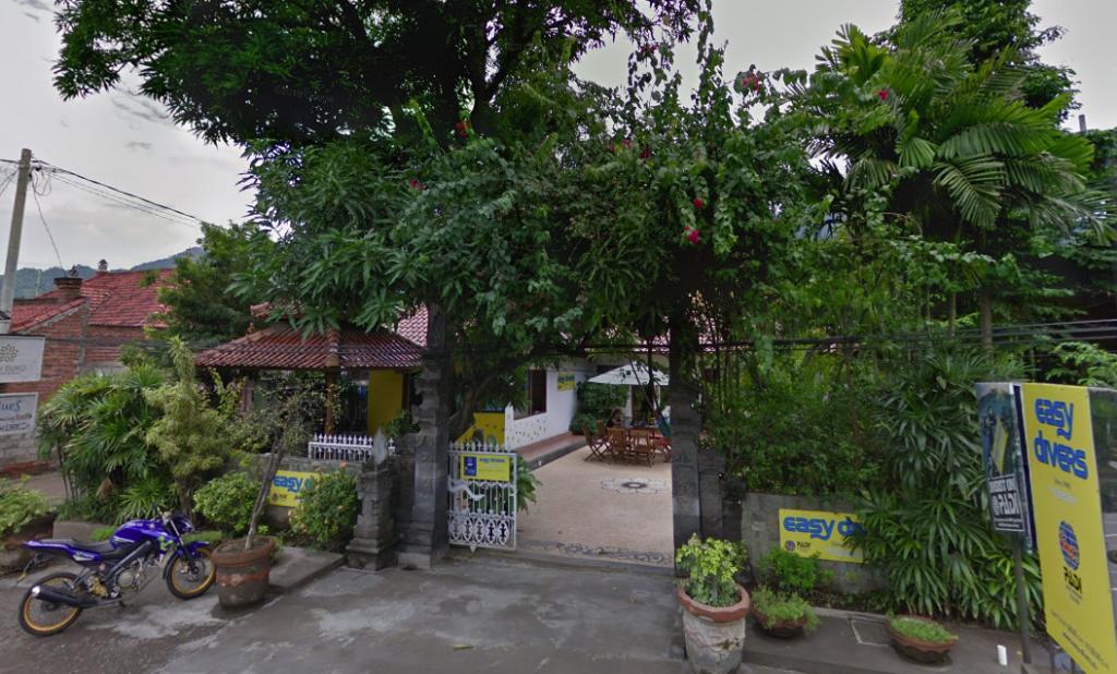 Prevajalska pisarna na Baliju (Google Street View)